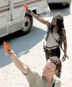 """Rick & Michonne 6x01 """"First Time Again"""""""
