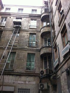 rue Saint-Denis, immeuble mis en péril #immobilierparisien