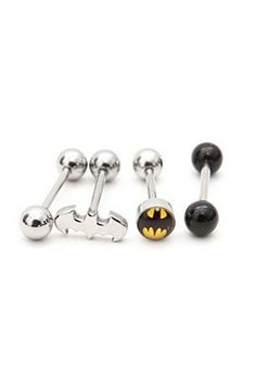 I would so get my tongue peirced for these :)