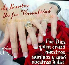 Wedding Aniversary, Decorative Leaves, Love My Husband, God Loves Me, Love You, My Love, Spanish Quotes, Happy Anniversary, Happy Day