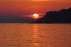 Arillas Sunset in Corfu