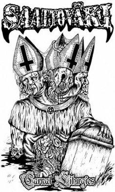 Saattoväki - Carnal Liturgies [demo] (2015) | Death Metal