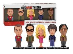 The Big Bang Theory pack figurines Wacky Wobbler Bobble Head Funko