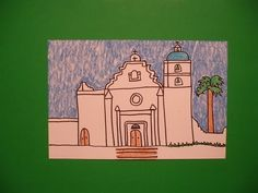 Let's Draw Mission San Luis Rey!