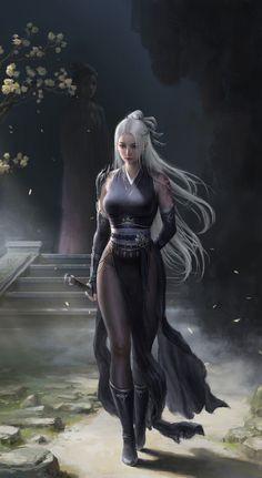 Female Character Design, Character Concept, Character Art, Fantasy Women, Sci Fi Fantasy, Fantasy Characters, Female Characters, Fictional Characters, Female Samurai