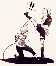 Sasori  I think your are looking in the wrong place!!! (°///°)
