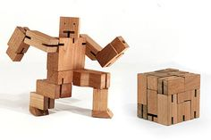Great boys gift - Cute eco friendly robot toy!