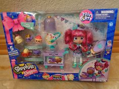 SHOPKINS - SHOPPIES DOLL - TIPPY'S TEA PARTY - JOIN THE PARTY - NEW RELEASE in Toys & Hobbies, TV, Movie & Character Toys, Other TV/Movie Character Toys | eBay