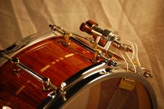Gallery - *Bellwether* Handcrafted, bespoke stave snare drums