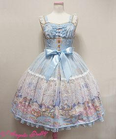 Angelic Pretty Eternal Carnival Peplum JSK