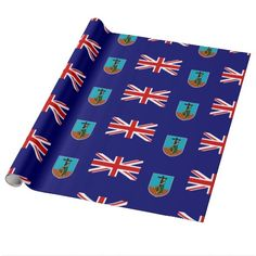 Flag of Montserrat Wrapping Paper