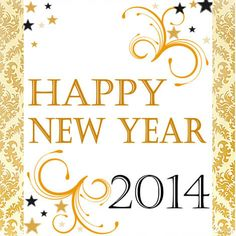 Happy New Year 2014 Party Decor