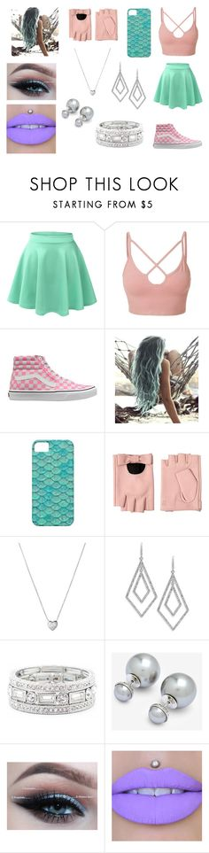 """-"" by mangle322 on Polyvore featuring LE3NO, Vans, Karl Lagerfeld, Links of London, ABS by Allen Schwartz, Sole Society and Ted Baker"