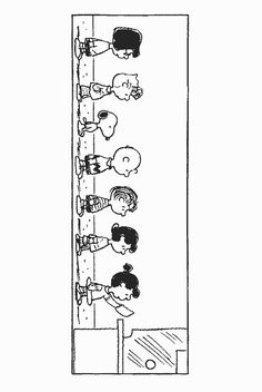Charlie Brown Characters coloring page   Things to Paint ...