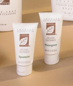 Shaklee Dentifrice-Spearmint and Wintergreen  Item #31780   Retail Price: $8.10   Member Price: $6.90