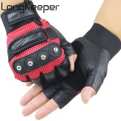 rabbagash.com Motorcycle Half-Finger Gloves Elegant design and attractive craftsmanship. Ergonomic finger design, greater flexibility, and comfort when driving. The palm reinforcement protects the hands from impact and abrasion. The touchscreen phone is easy to use. Wide protection on the back of the hand with a hard fiber shell design, effectively protects your hands from collisions. The palm with the portable puppy pad design, the attached hand provides a fantastic grip. Last but not least, ma
