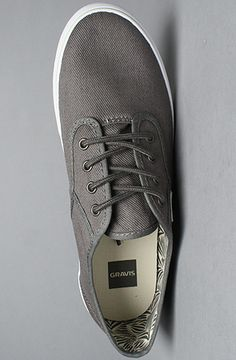 New sneaks. Gravis Slymz Gunmetal w/Lime Green soles $50