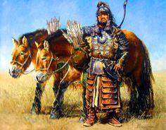Mongol heavy horse archer