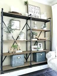 Image Result For Decorative Free Standing Shelving Units Modern Farmhouse Living Room Decor Farmhouse Style Living Room Farm House Living Room
