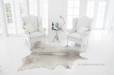 Jersey Road - Light Gray Cowhide Rug, $329.00 www.jerseyroad.com 100% top quality Brazilian cowhide rug. FREE SHIPPING USA & Canada wide.    Tags: #cowhide #cowrug #rug #leather #beautifulroom #dreamroom #bedroom #jerseyroadco #whiteonwhite #whiteroom #gray #graycowhide #interior #vogue #stylist #grayrug #whiteonwhite #frenchcountry #chic #frenchinterior #decor #scandinavian