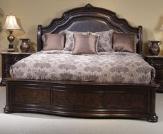 Mahogany Sleigh Bedroom Furniture | BedroomR.com