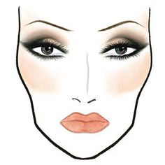 Vivid Emotions Make-up: MAC face charts - In the groove