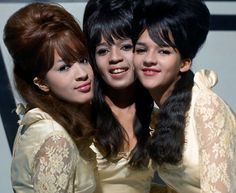 The Ronettes 60's hair, if only we knew what was to come
