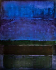Mark Rothko - Blue, Green and Brown