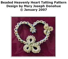 Beaded Heavenly Heart - Heavenly Heart without beads found here http://www.keepandshare.com/doc/1057753/heavenly-heart-pdf-february-5-2009-11-17-am-63k?da=y=y