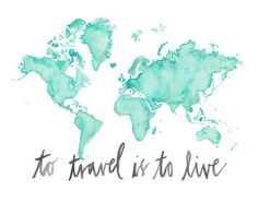 or - Rainbow World Love / Watercolor Map Print / Wedding Gift / Anniversary Gift / Moving Gift / Travel / Wanderlust Travel Maps, Travel Posters, Travel Quotes, Wallpapers Tumblr, Tumblr Wallpaper, Wallpaper Wallpapers, World Map Wallpaper, Travel Wallpaper, Watercolor Map