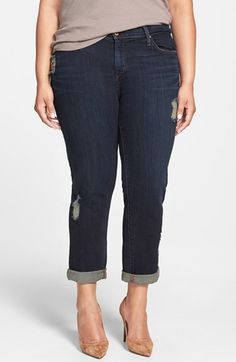 James Jeans 'Neo Beau Z' Stretch Boyfriend Jeans (Westminster) (Plus Size) available at #Nordstrom