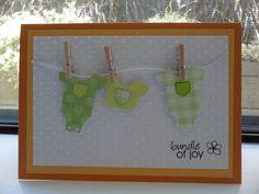 Baby card - Scrapbook.com