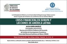 Tercera Cátedra de México del 2012 en la Tadeo.