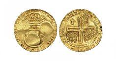 Portugal/Kingdom AV 4 Cruzados 1642/Joao IV/14.6.1698/Lisbon Mint Pedro II