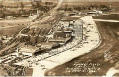 What Lambert St. Louis Airport looked like back in the day.Before Highway 70.