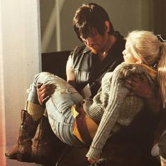Daryl and Beth, true love, ship, cute, Bethyl, Normily, The Walking Dead