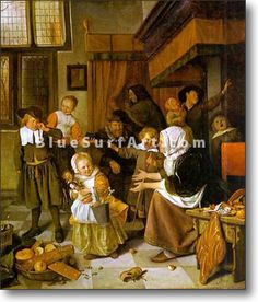 The Feast of St. Nicholas - £124.99 : Canvas Art, Oil Painting Reproduction, Art Commission, Pop Art, Canvas Painting