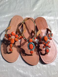 jewelry for your feet Coral Sandals, Footwear, Women's Fashion, Shoes, Jewelry, Hipster Stuff, Shoe, Fashion Women, Zapatos