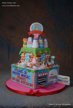 Dream Kitchen Cake st Fairfax VA Cake Show - by mimicafeunion @ CakesDecor.com - cake decorating website