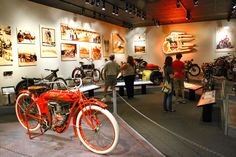 The Otis Chandler Gallery at the Petersen Automotive Museum