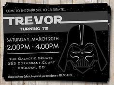 Invitaciones de cumpleaños de Star Wars. Visita mi blog para ver más! http://www.invitacionesde.com