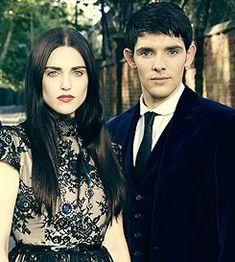 Radio Times Photoshoot - Colin Morgan and Katie McGrath Photo (33006990) - Fanpop