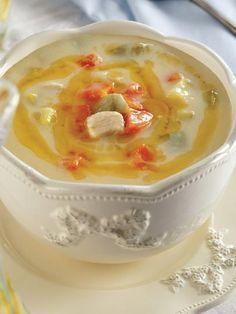 Muradiye Soup Recipe – Turkish Cuisine – Recipes - About Life Casserole Recipes, Soup Recipes, Dishes Recipes, Turkish Recipes, Ethnic Recipes, Good Food, Yummy Food, Polish Recipes, Mets