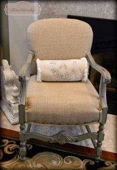 It's all about the DeTaiLs ~ Chair! Forever Decorating