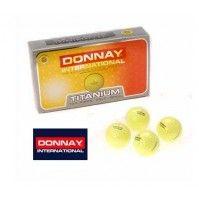15 x Donnay TITANIUM 2-teilige Golfbälle Gelb