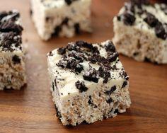 Oreo Rice Krispie Treats from Stylish Cuisine