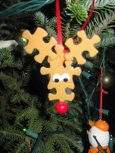 Titina's Art Room: 20+ easy diy christmas ornaments for kids to do