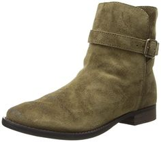 Sam Edelman Women's Malone Boot, Moss Green, 6 M US. Short suede boot with buckled strap and lightly burnished finish. Engraved logo stud at back. Suede Boots, Bootie Boots, Sam Edelman Boots, Mid Calf Boots, Girls Best Friend, Ankle Booties, Black Boots, Chelsea Boots, Booty