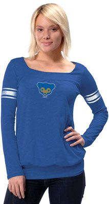Women's Buffalo Bills Touch by Alyssa Milano Blue Kari Thermal