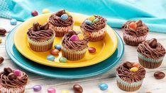 Húsvéti muffinok méricskélés nélkül Mini Cupcakes, Muffin, Food, Essen, Muffins, Meals, Cupcakes, Yemek, Eten